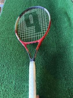 PRINCE Equalizer Tennis Racquet Oversize~New White Wilson 4