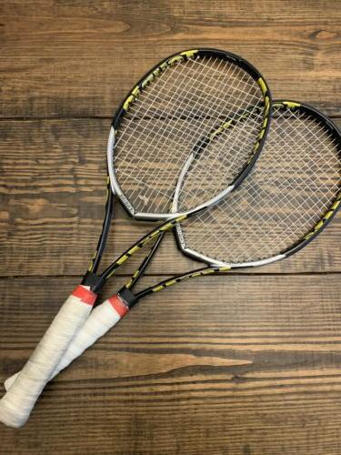 tour 10 pair of racquets recently strung