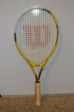 Wilson US Open 25 Yellow and Black Tennis Youth Raquet